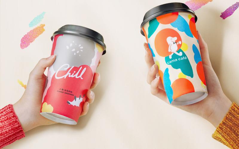 cama café聯手彩妝品牌1028玩色彩 共推精品咖啡