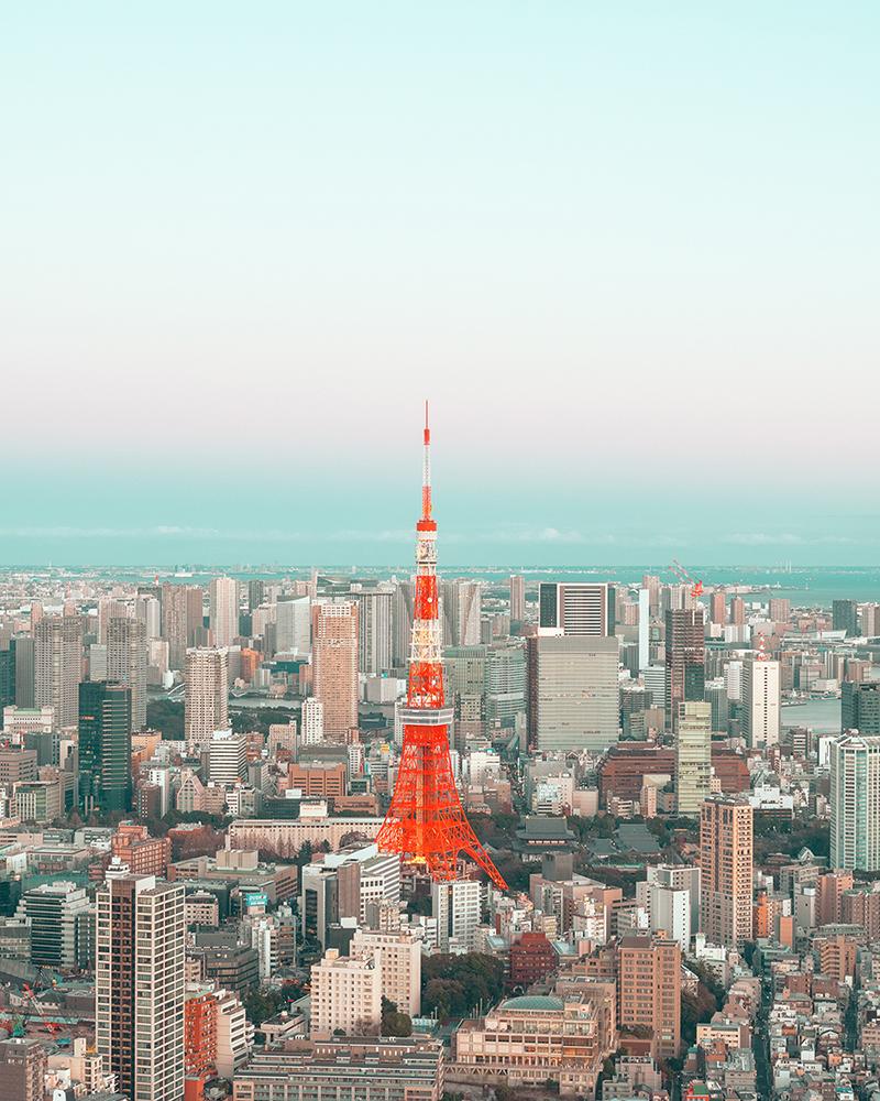 糖果色的東京!法國攝影師Ludwig Favre鏡頭下甜而不膩的東京城市風景_05