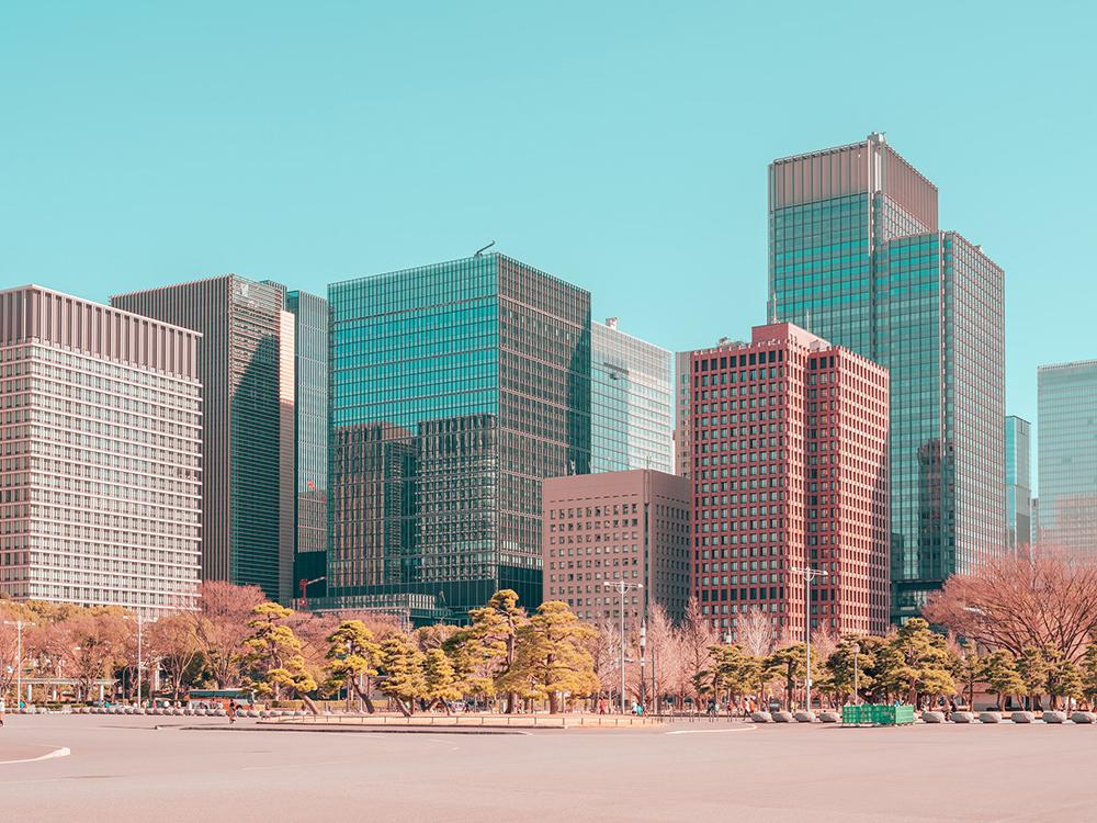 糖果色的東京!法國攝影師Ludwig Favre鏡頭下甜而不膩的東京城市風景_01