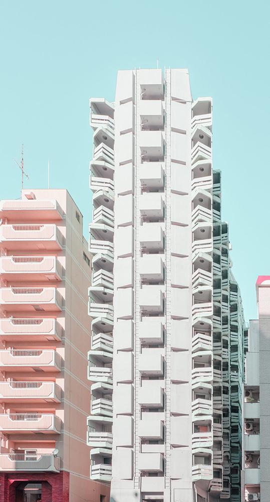 糖果色的東京!法國攝影師 Ludwig Favre鏡頭下甜而不膩的東京城市風景_03