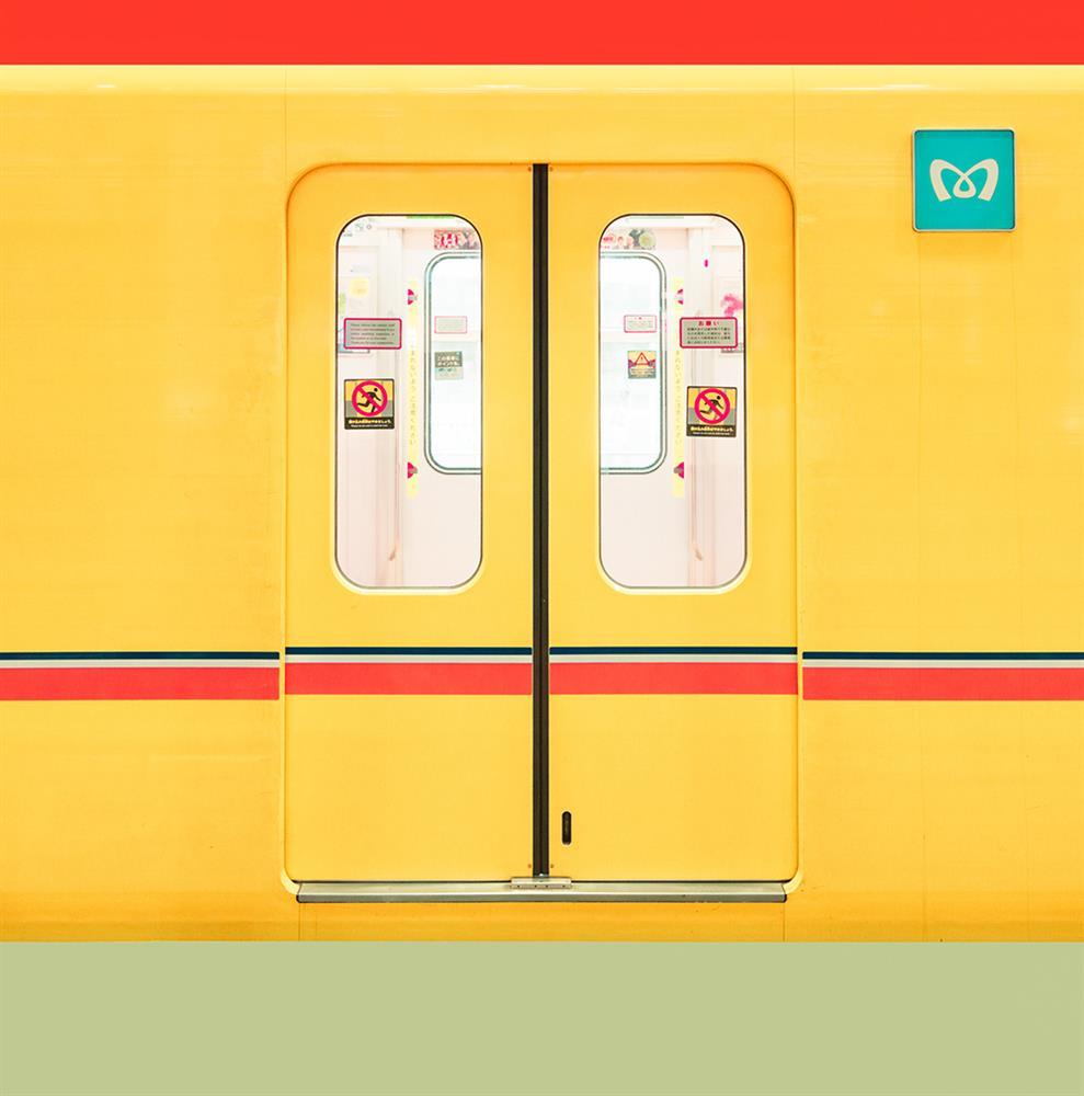 糖果色的東京!法國攝影師Ludwig Favre鏡頭下甜而不膩的東京城市風景_02