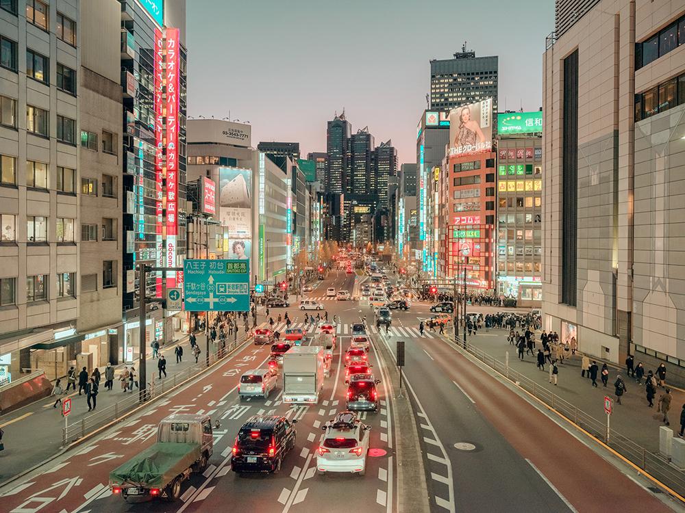 糖果色的東京!法國攝影師 Ludwig Favre鏡頭下甜而不膩的東京城市風景_02