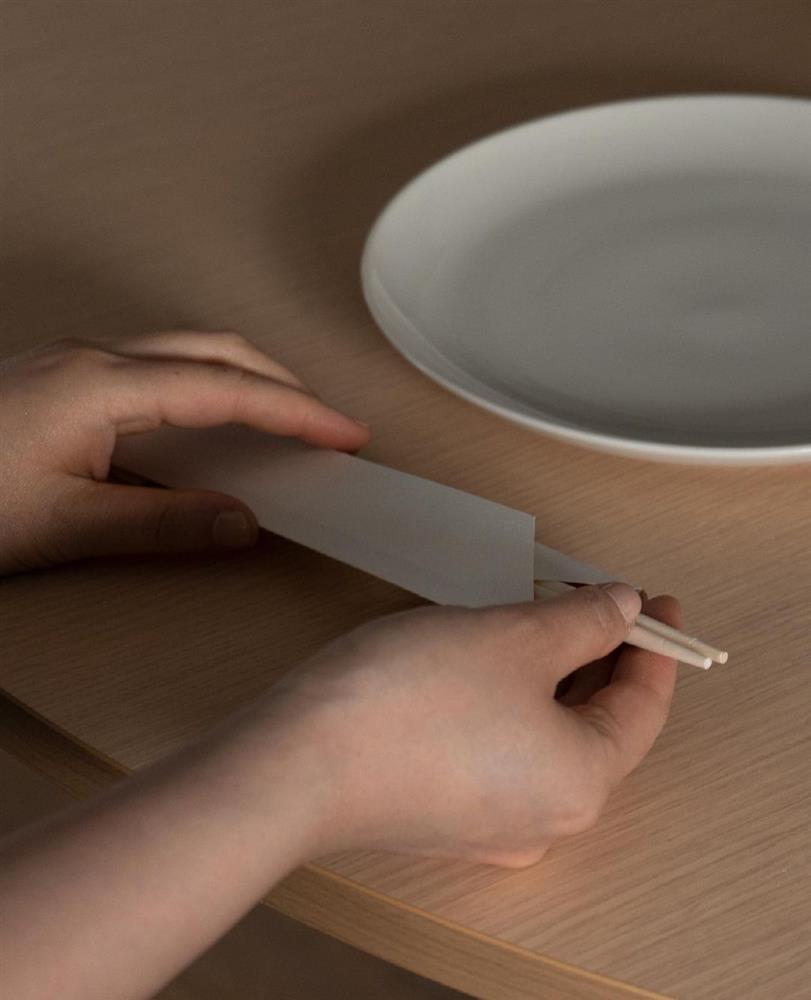 免洗筷變身簡約摩登燈罩06