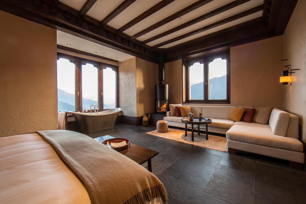 不丹「崗提山谷隱世小屋」坐擁喜馬拉雅山美景7