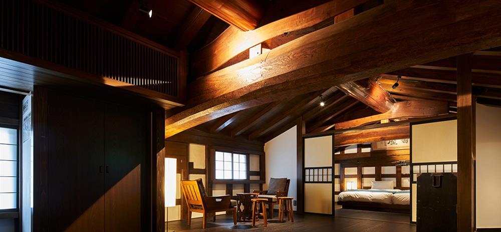 日本東北改建自武士倉庫的旅宿「和之居 角館」9