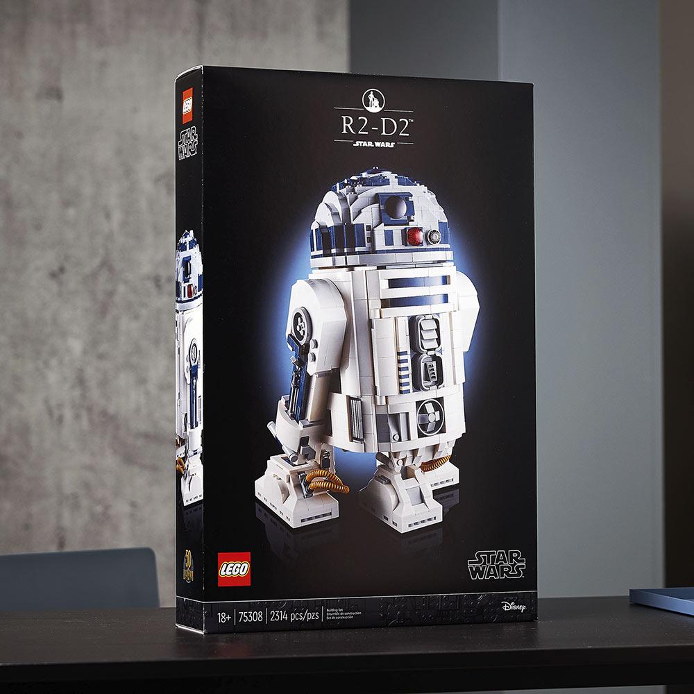 樂高LEGO全新升級《星際大戰》「R2-D2」模型!紀念盧卡斯影業50週年_02