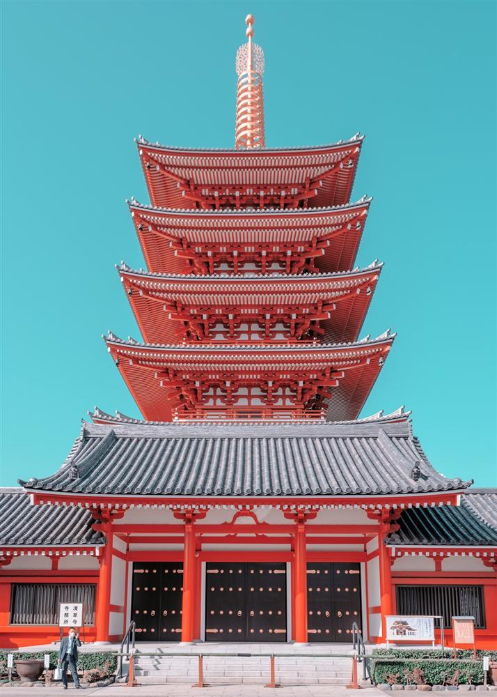糖果色的東京!法國攝影師 Ludwig Favre鏡頭下甜而不膩的東京城市風景_06