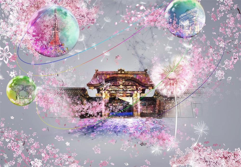 京都二条城變身沉浸式展場