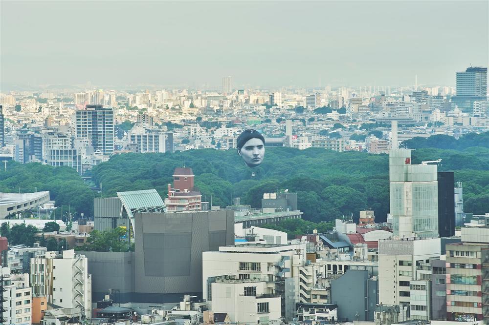 東京上空巨大人臉「まさゆめ」現身mainimage