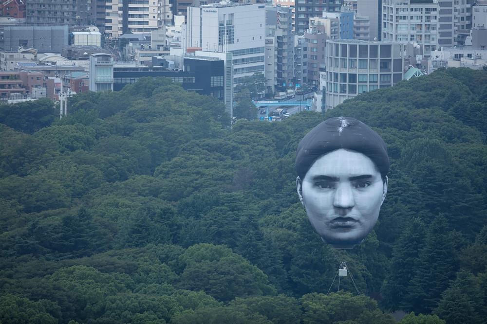 東京上空巨大人臉「まさゆめ」現身masayume-me-005