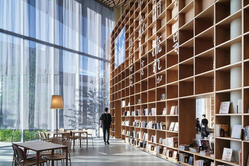 那須鹽原市立圖書館Miruru的溫潤木質空間11