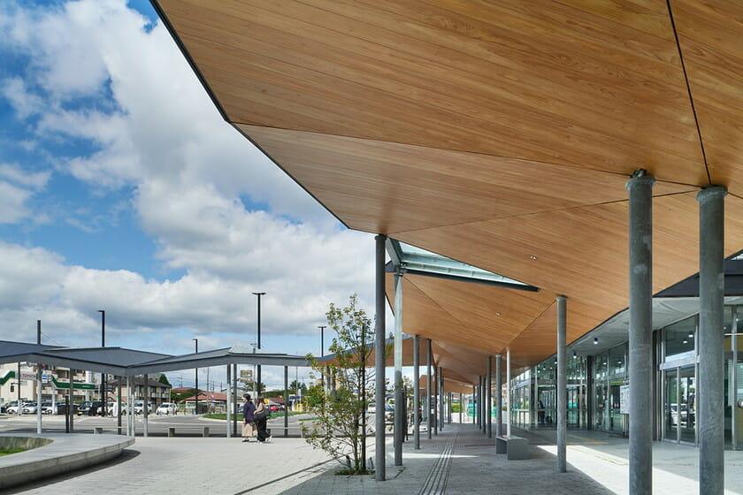 那須鹽原市立圖書館Miruru的溫潤木質空間8