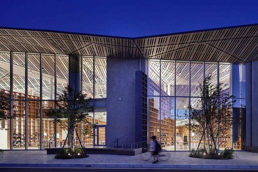 那須鹽原市立圖書館Miruru的溫潤木質空間5