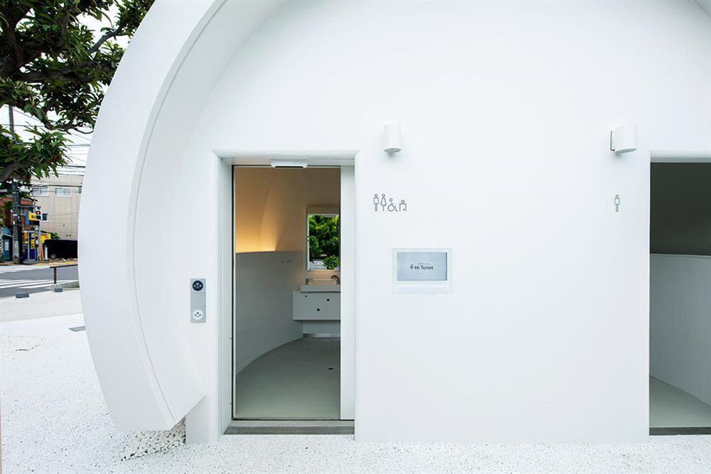 東京「Hi Toilet」聲控廁所03-1