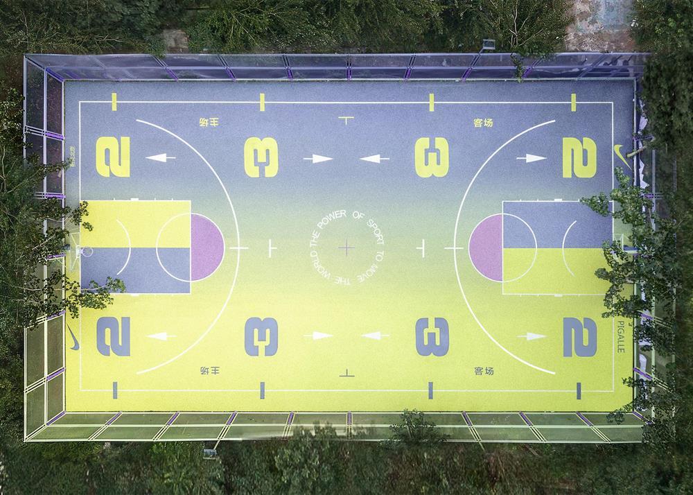 NIKE籃球場5