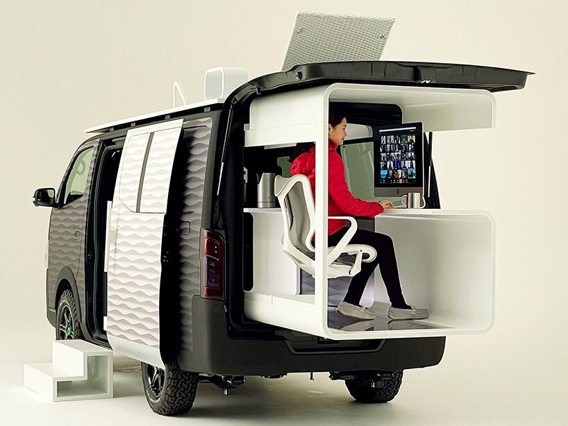Nissan NV350變身「行動辦公車」!戶外上山下海也能一邊工作_03