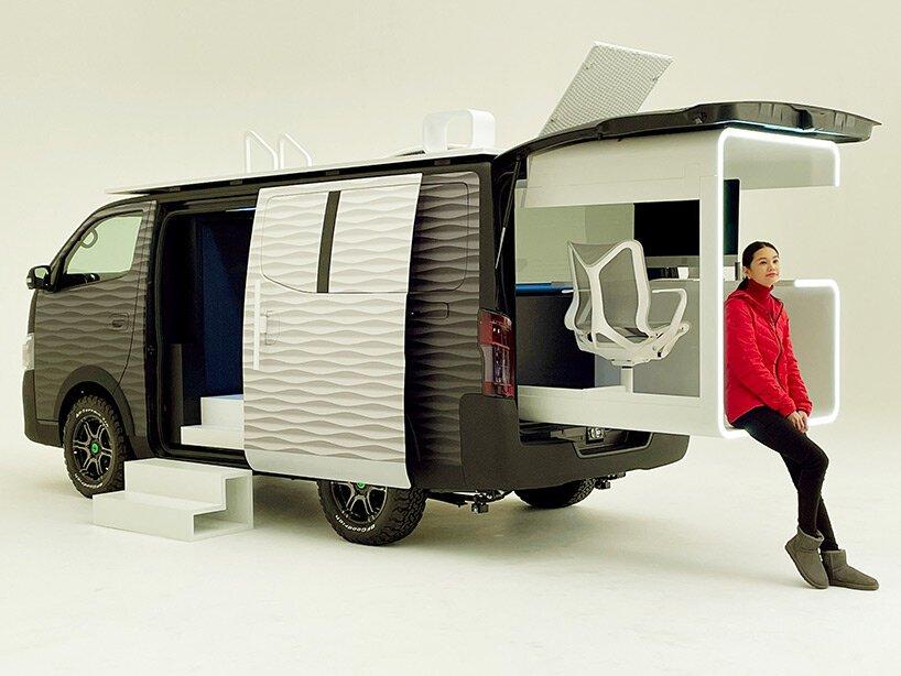 Nissan NV350變身「行動辦公車」!戶外上山下海也能一邊工作_07