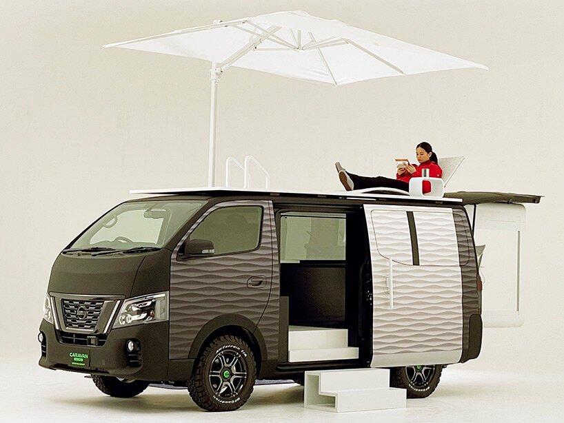 Nissan NV350變身「行動辦公車」!戶外上山下海也能一邊工作_08