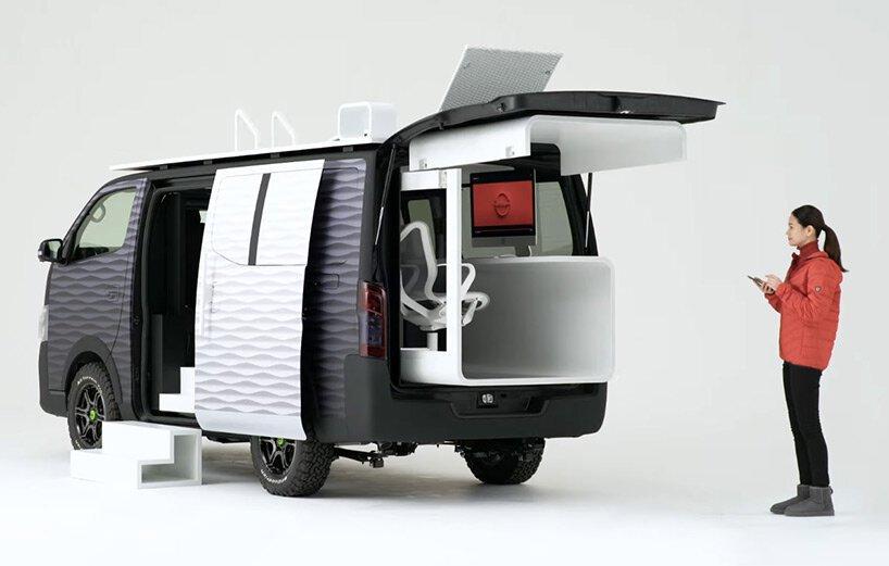 Nissan NV350變身「行動辦公車」!戶外上山下海也能一邊工作_04