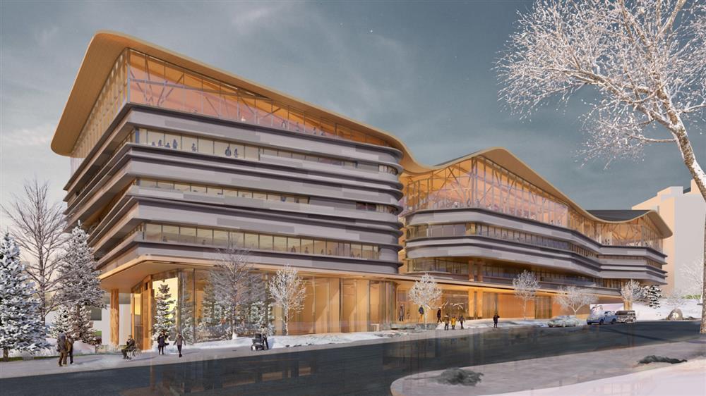 加拿大渥太華新公共圖書館「OPL-LAC」融入自然景致意象