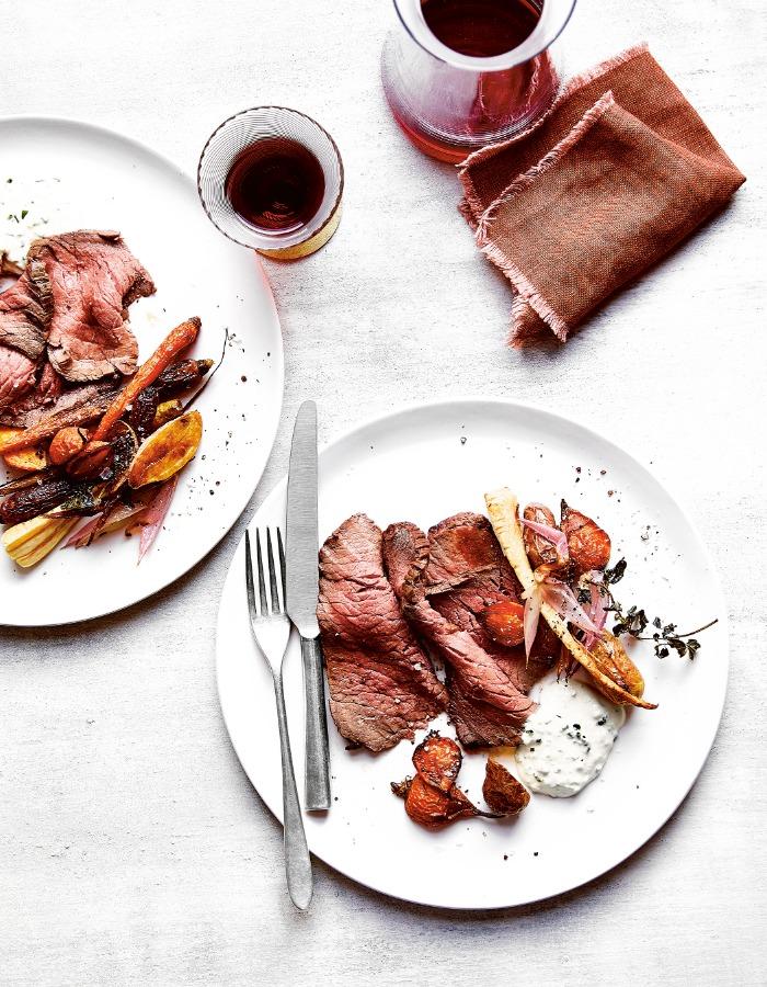美味氣炸鍋料理!烤牛肉、球芽甘藍的享瘦食譜_01