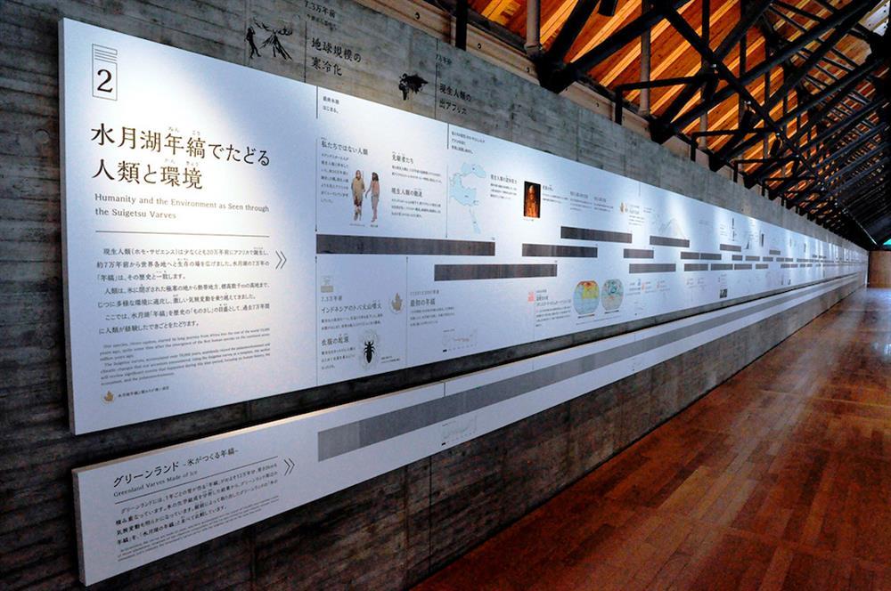 全球唯一的日本年縞博物館!回顧人類7萬年歷史的地質秘密6