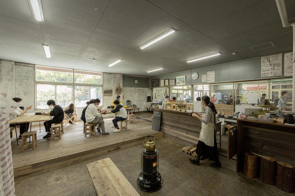 土合車站變身「駅茶mogura 」咖啡廳、旅宿複合空間4