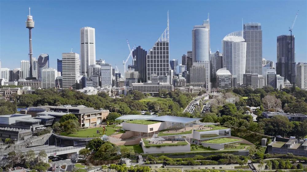 SANNA的新南威爾斯美術館擴建計畫4