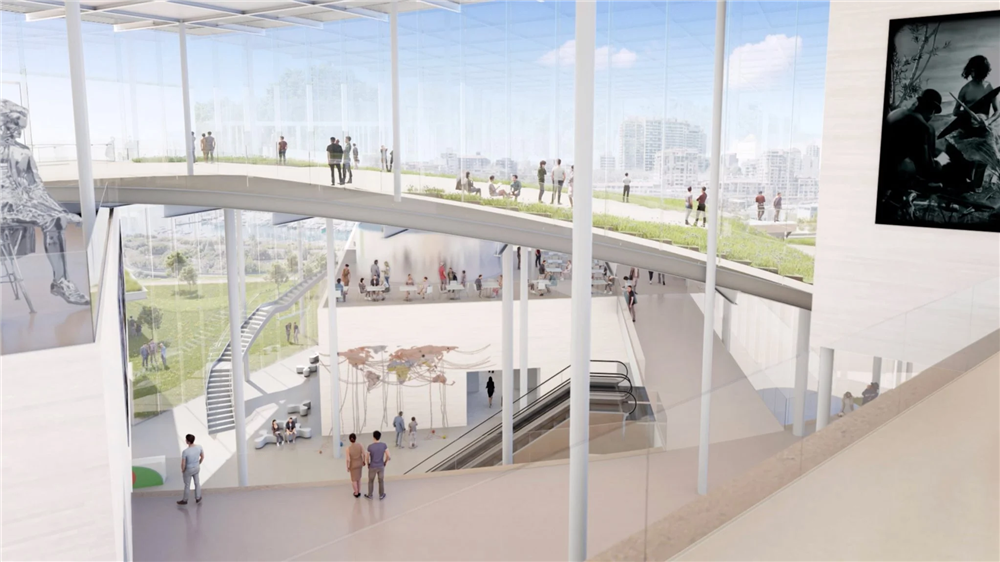 SANNA的新南威爾斯美術館擴建計畫1