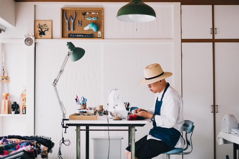 日本手作設計師花村一晃 療癒系羊毛氈動物壁掛創作5