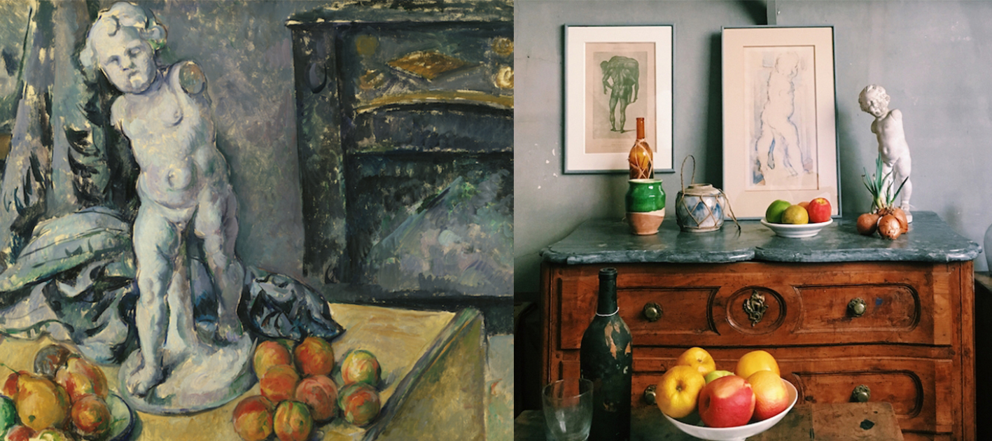 Atelier Cézanne--《靜物》系列,保羅‧塞尚