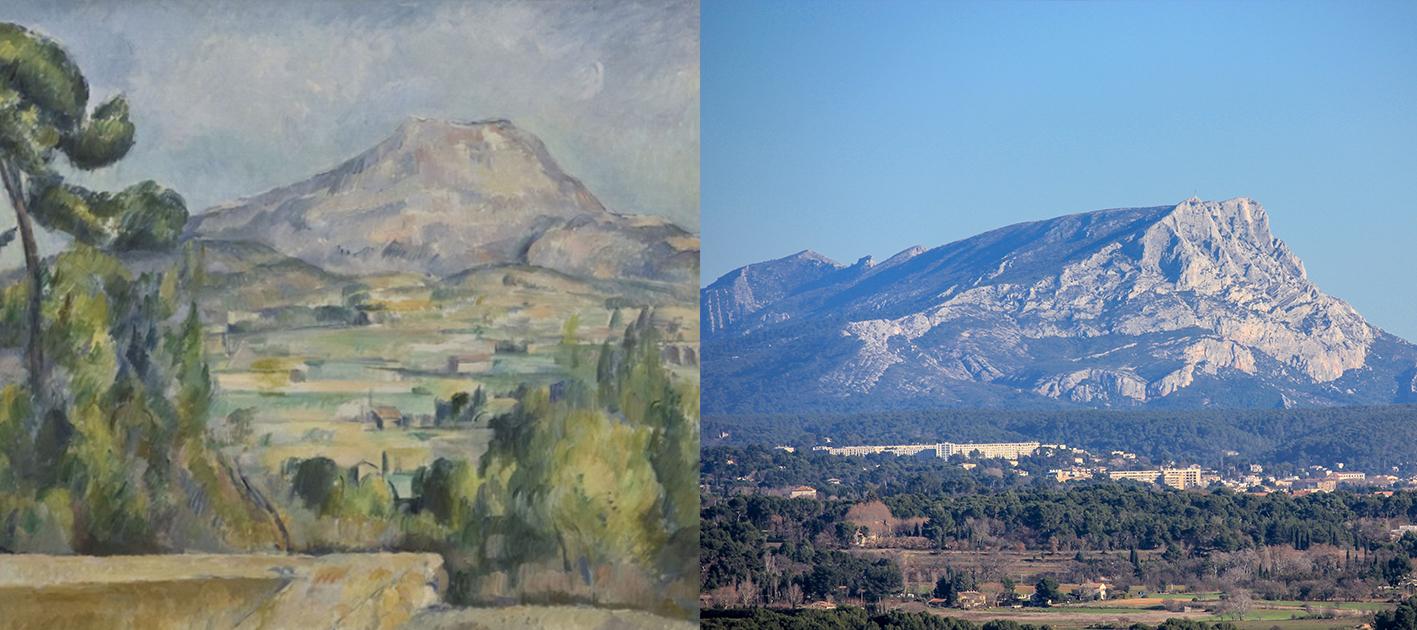Terrain des Peintres--《聖維克多山》系列,保羅‧塞尚