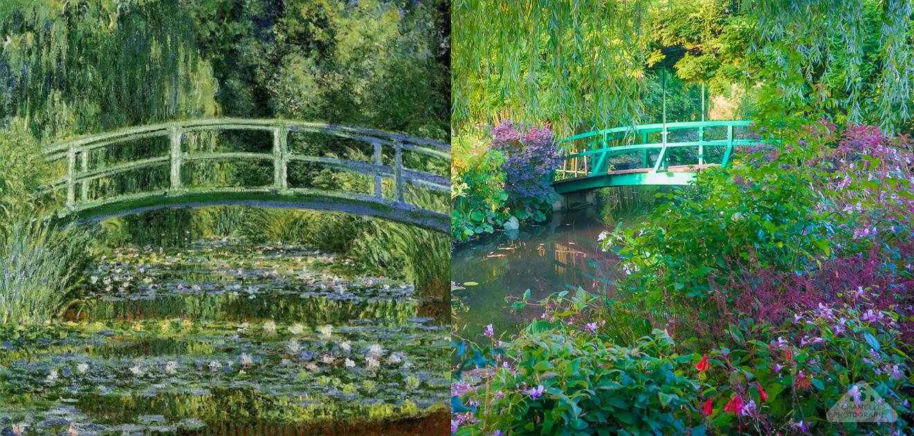 Monet's Garden in Giverny--《睡蓮和日本橋》系列,克勞德‧莫內
