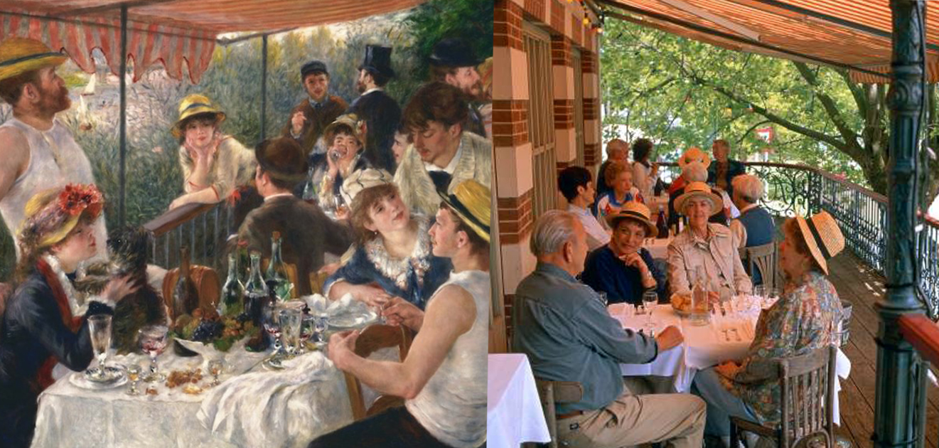 Maison Fournaise--《船上的午宴》,皮耶-奧古斯特‧雷諾瓦