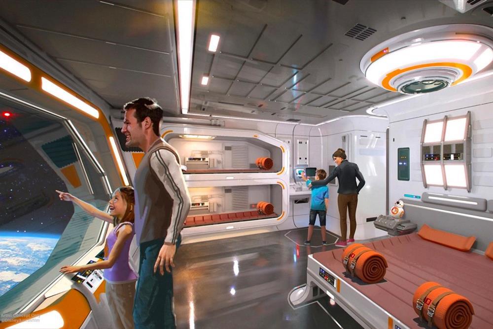 迪士尼「星際大戰主題酒店」2022年開幕!主打為期兩晚的沈浸式星戰體驗