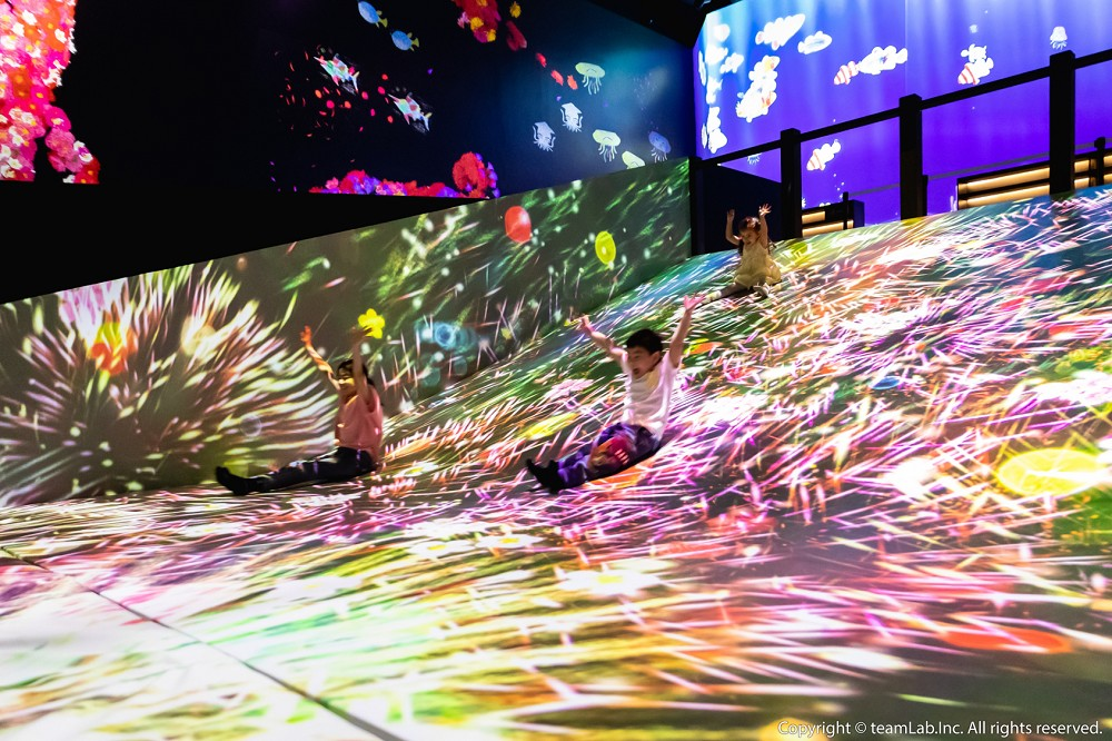 2021teamLab台北開展!未來樂園展區9大互動藝術作品亮點搶先看