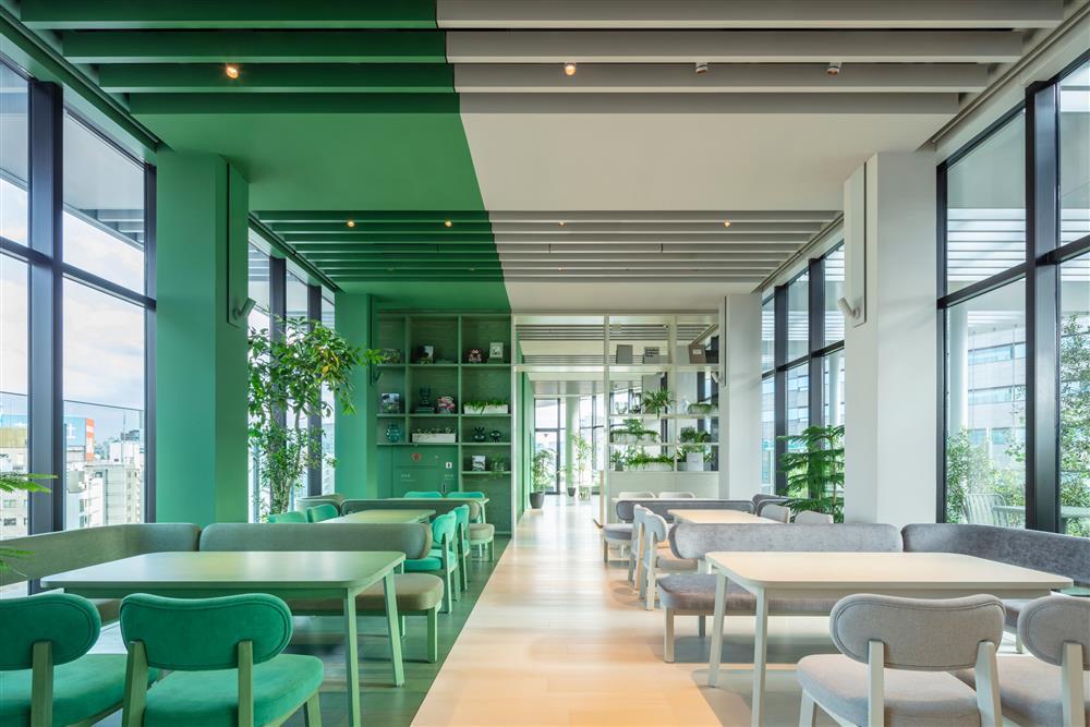 Pantone2021年度代表色「東京toggle hotel」!搭配如色票房型的視覺饗宴5