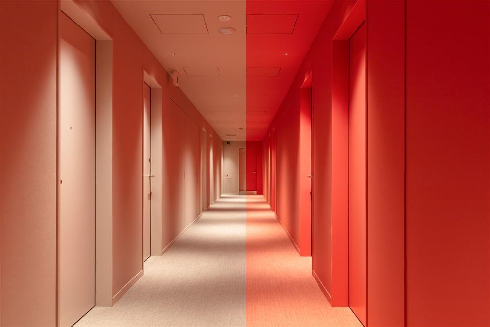Pantone2021年度代表色「東京toggle hotel」!搭配如色票房型的視覺饗宴7