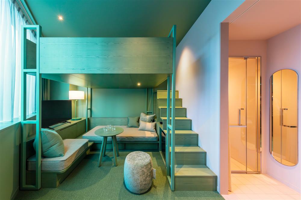 Pantone2021年度代表色「東京toggle hotel」!搭配如色票房型的視覺饗宴8