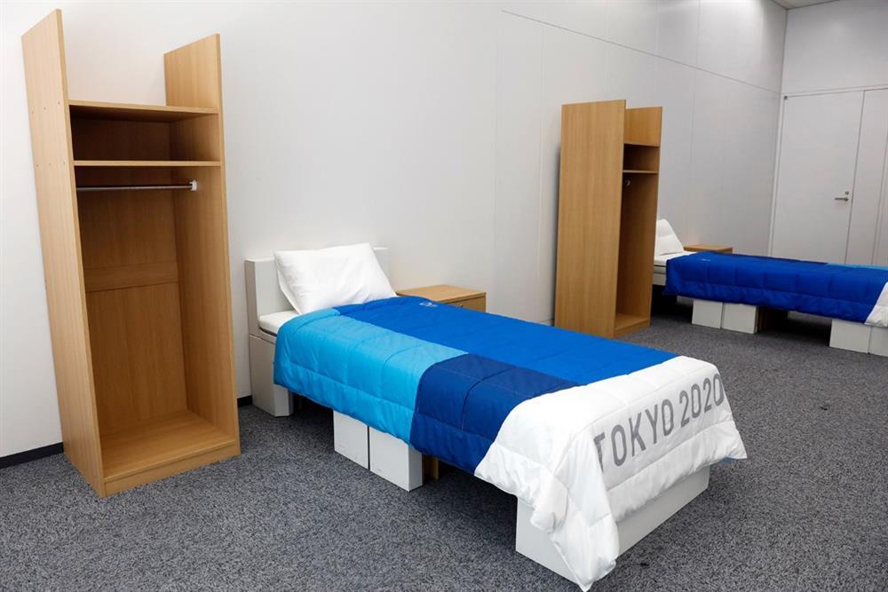 2020東京奧運選手村寢具亮相!床架全由可回收紙板構成、床墊硬度還可分別訂製_03