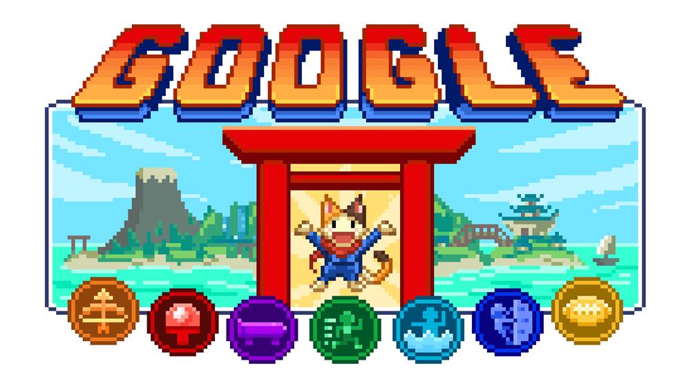 Google Doodle東京奧運、帕運限定遊戲《冠軍島運動會》