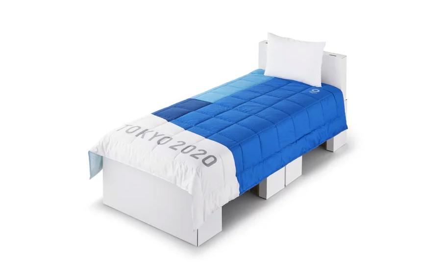 2020東京奧運選手村寢具亮相!床架全由可回收紙板構成、床墊硬度還可分別訂製_01